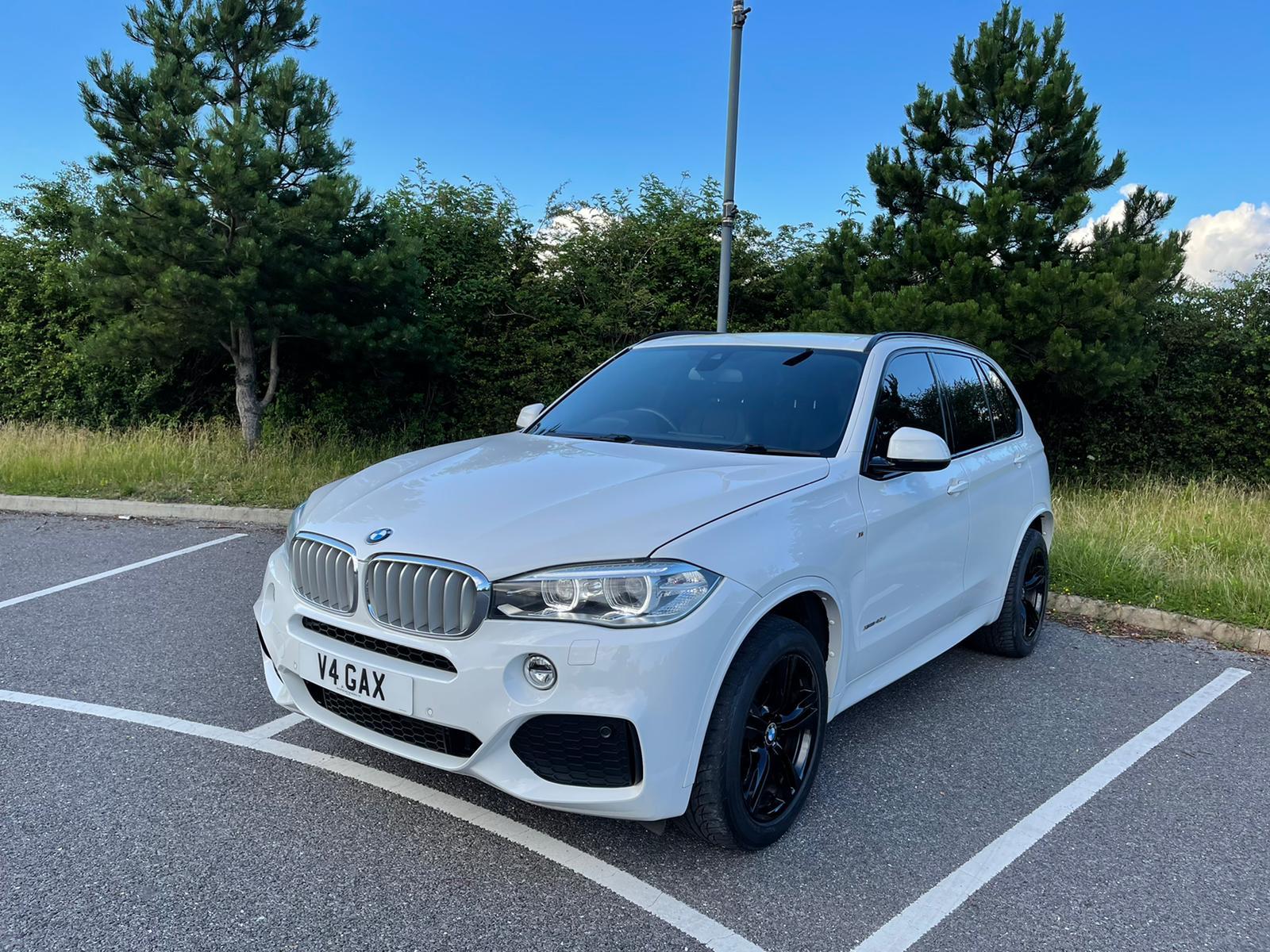 BMW X5 3.0 40D M SPORT XDRIVE MAIN DEALER HISTORY